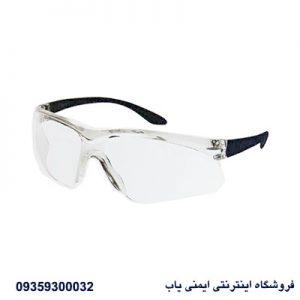 عینک ایمنی V100 | عینک آزمایشگاهی
