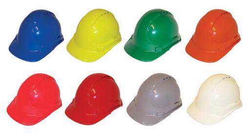 استاندارد رنگ بندی کلاه های ایمنی چیست