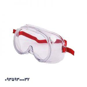 عینک گاگل سوپاپ دار سفید
