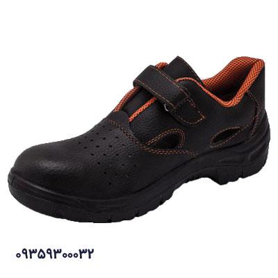 کفش ایمنی تابستانی مشکی