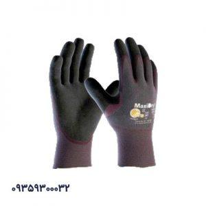 دستکش ضد مواد روغنی مکسی درای کف مواد 56 - 424