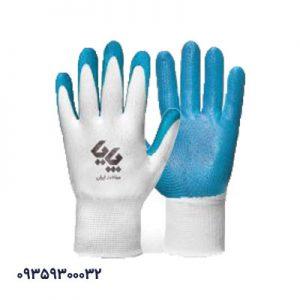 دستکش کار کف مواد نیتریل ساده پایا