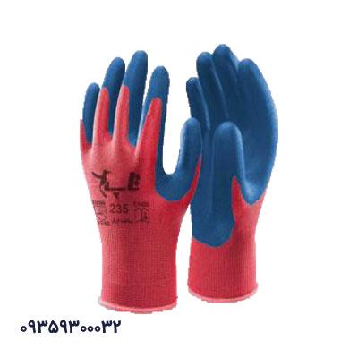 دستکش کف مواد نیتریل ساده تاپ 235