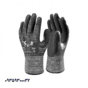 دستکش کف مواد نیتریل شیاری تاپ کد292