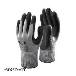 دستکش کف مواد نیتریل و پی یو تاپ کد275