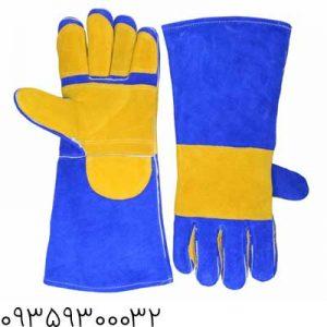 دستکش-جوشکاری-تمام-چرم
