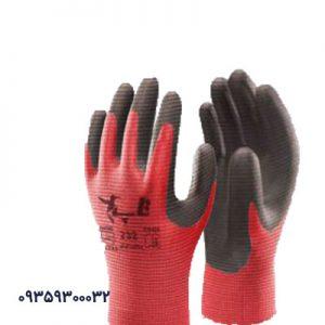 دستکش کف مواد نیتریل شیاری تاپ کد232
